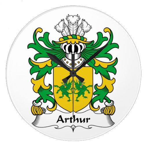 Escudo de la familia de Arturo Relojes