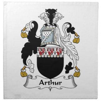 Escudo de la familia de Arturo Servilleta De Papel
