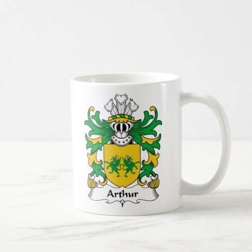 Escudo de la familia de Arturo Tazas De Café