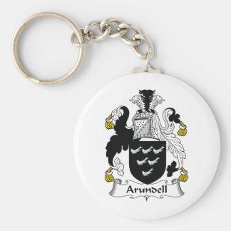Escudo de la familia de Arundell Llavero Personalizado