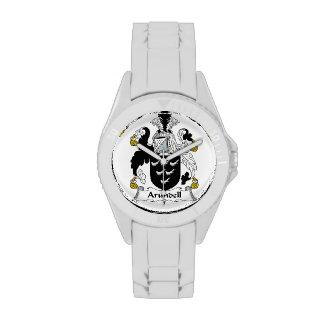 Escudo de la familia de Arundell Relojes De Pulsera