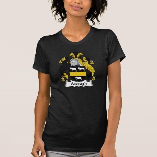Escudo de la familia de Ascough Camisetas