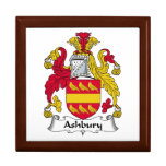 Escudo de la familia de Ashbury Cajas De Recuerdo