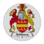 Escudo de la familia de Ashbury Juego De Fichas De Póquer