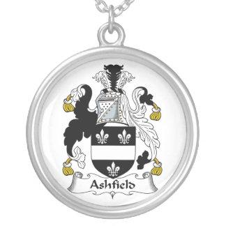 Escudo de la familia de Ashfield Colgante Redondo