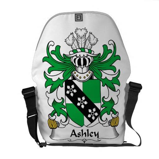 Escudo de la familia de Ashley Bolsas Messenger