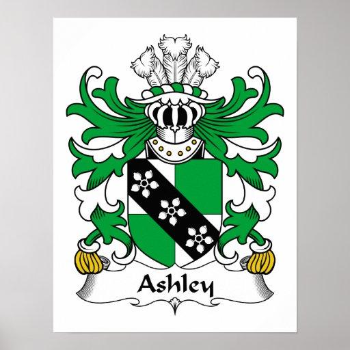Escudo de la familia de Ashley Posters