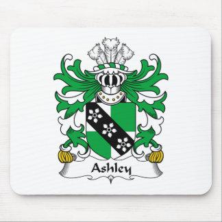 Escudo de la familia de Ashley Alfombrillas De Raton
