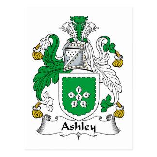 Escudo de la familia de Ashley Postales