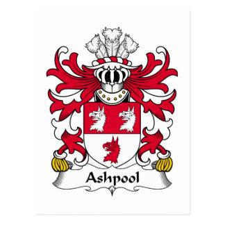 Escudo de la familia de Ashpool Tarjetas Postales