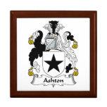 Escudo de la familia de Ashton Caja De Joyas