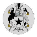 Escudo de la familia de Ashton Fichas De Póquer