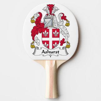 Escudo de la familia de Ashurst Pala De Tenis De Mesa