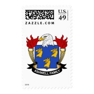 Escudo de la familia de Ashwell Sellos