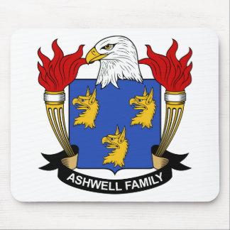 Escudo de la familia de Ashwell Alfombrilla De Ratón