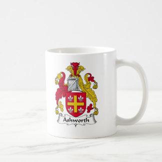 Escudo de la familia de Ashworth Taza De Café