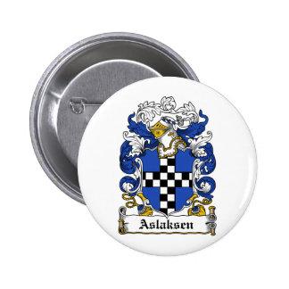 Escudo de la familia de Aslaksen Pin