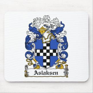 Escudo de la familia de Aslaksen Tapetes De Raton