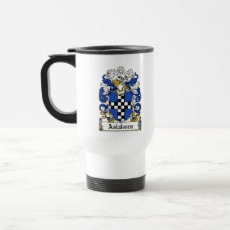 Escudo de la familia de Aslaksen Taza De Café