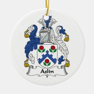 Escudo de la familia de Aslin Adorno