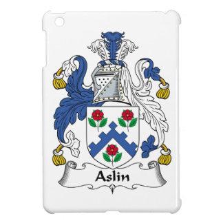 Escudo de la familia de Aslin iPad Mini Protectores