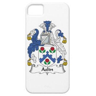 Escudo de la familia de Aslin iPhone 5 Carcasa