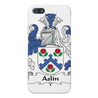 Escudo de la familia de Aslin iPhone 5 Funda