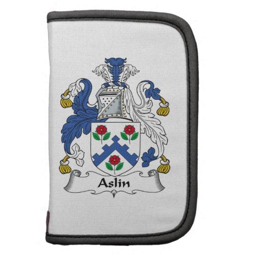 Escudo de la familia de Aslin Planificadores