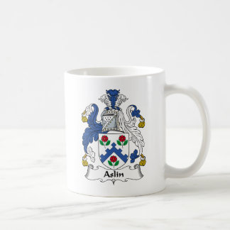 Escudo de la familia de Aslin Taza