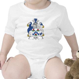 Escudo de la familia de Aslin Traje De Bebé