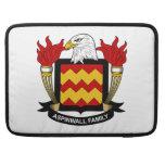 Escudo de la familia de Aspinwall Funda Para Macbook Pro