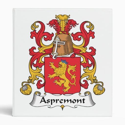 Escudo de la familia de Aspremont