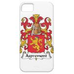 Escudo de la familia de Aspremont iPhone 5 Case-Mate Coberturas