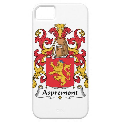 Escudo de la familia de Aspremont iPhone 5 Funda