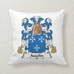 Escudo de la familia de Asselin Cojin