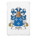 Escudo de la familia de Asselin iPad Mini Funda