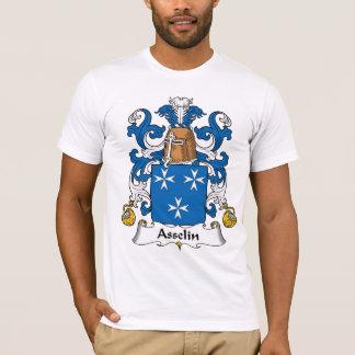 Escudo de la familia de Asselin Playera