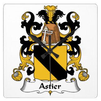 Escudo de la familia de Astier Relojes De Pared