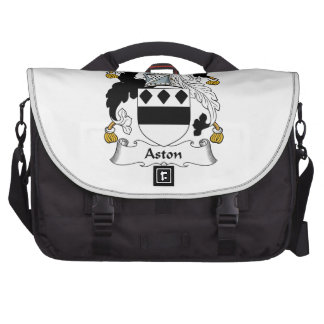 Escudo de la familia de Aston Bolsa De Ordenador