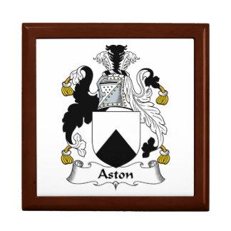 Escudo de la familia de Aston Cajas De Regalo