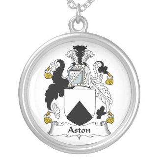 Escudo de la familia de Aston Colgante Redondo