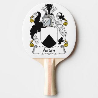Escudo de la familia de Aston Pala De Tenis De Mesa