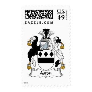 Escudo de la familia de Aston Sello