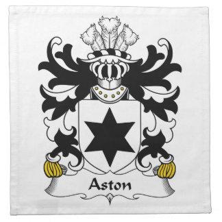 Escudo de la familia de Aston Servilletas De Papel