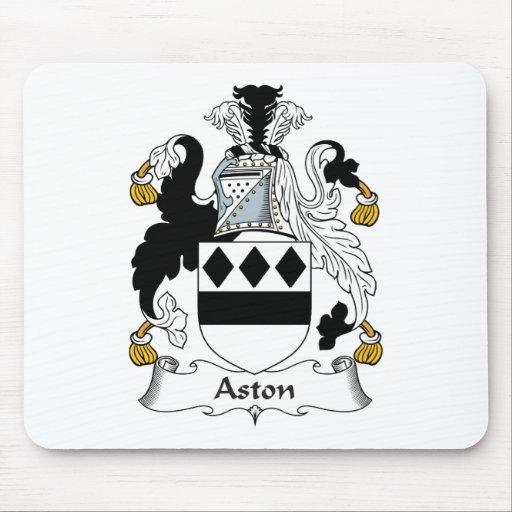 Escudo de la familia de Aston Tapetes De Ratón