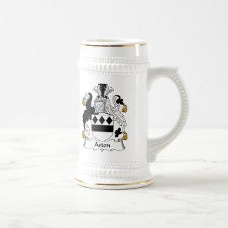 Escudo de la familia de Aston Taza De Café