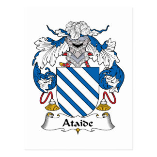 Escudo de la familia de Ataide Tarjetas Postales