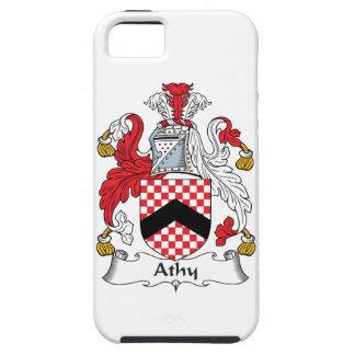 Escudo de la familia de Athy iPhone 5 Cárcasa