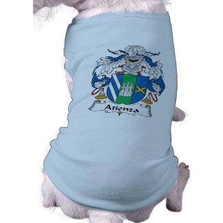 Escudo de la familia de Atienza Playera Sin Mangas Para Perro