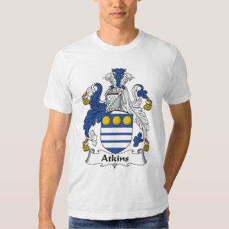 Escudo de la familia de Atkins Polera
